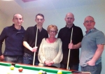 The Stephen Carey Fund - 24 Hour Pool Marathon