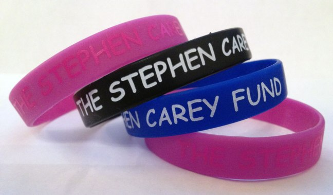 The Stephen Carey Fund Wristbands