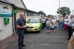 The Stephen Carey Fund unveil their first Public Access Defibrillator at Shilbottle