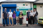 The Stephen Carey Fund unveil their first Public Access Defibrillator at Shilbottle