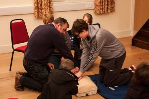 Lowick locals get hands on with CPR