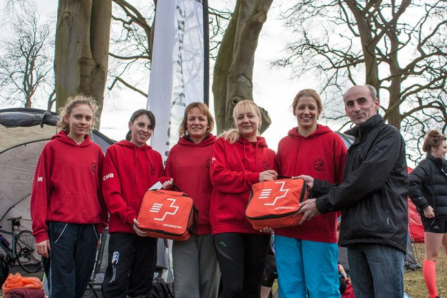 Alnwick Harriers Receive First Aid Kits