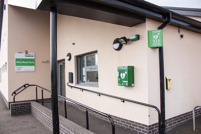 Defibrillator in Longhoughton