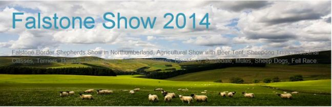 Falstone Border Shepherds Show 2014