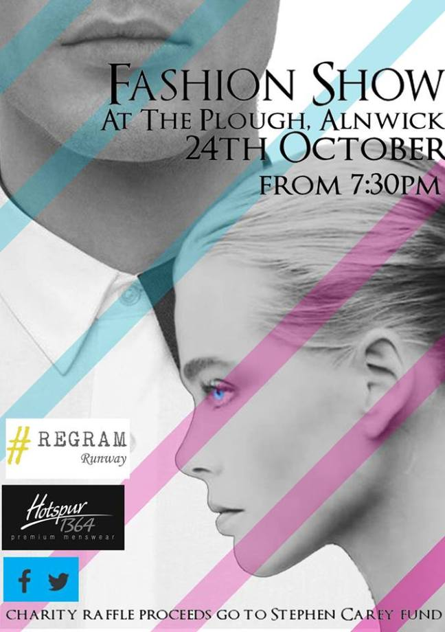 Fashion Show at The Plough, Alnwick