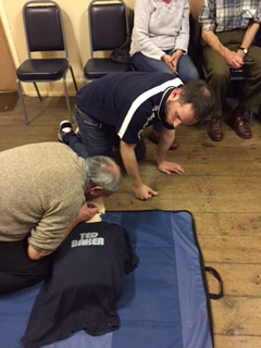 Community of Ellingham receive life saving training courtesy of The Stephen Carey Fund