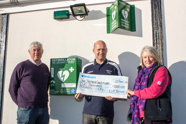 Public Access Defibrillator at Bamburgh