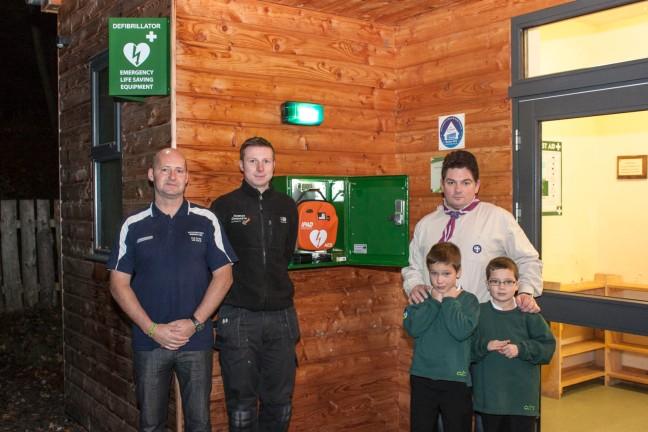 Ford Scout Camp receives Public Access Defibrillator