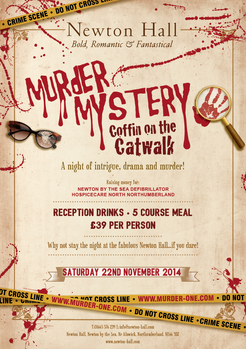 Murder Mystery At Newton Hall The Stephen Carey Fund