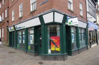 Newcastle Building Society - Morpeth Branch
