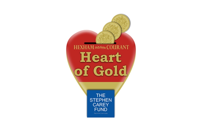 Hexham Courant Heart Of Gold Campaign
